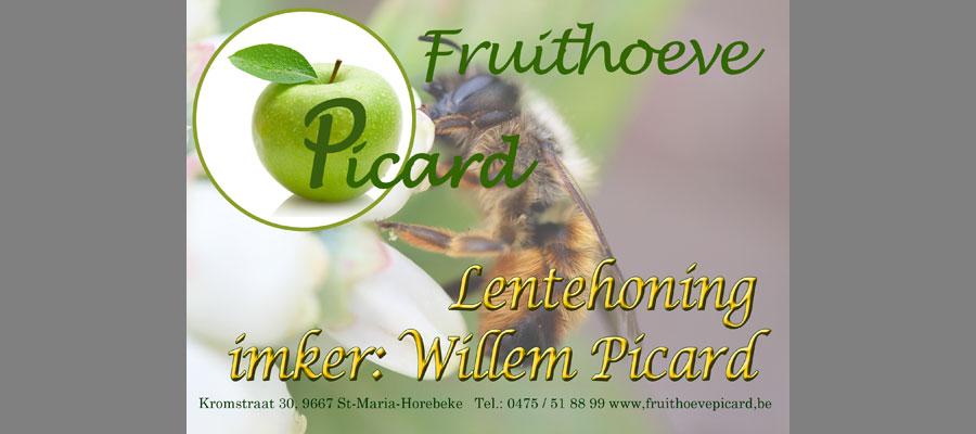 etiket honing